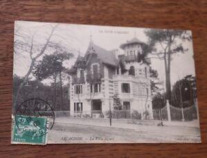 CPA-Arcachon-Villa-Sigurd-Gironde-La-cote-D-039-argent