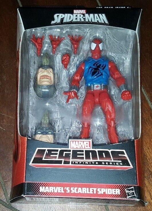 Neue marvel - spider - man - legenden unendliche serie  marvel ist scharlachrot spider - figur
