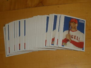 2006 Bowman Heritage Mike Napoli #204 RC Rookie Lot of 66