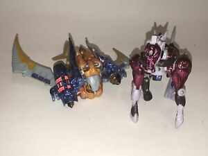 TRANSFORMERS-Hasbro-TRANSMETALS-Parts-Airazor-Beast-Wars-Figures-Lot-Ramulus