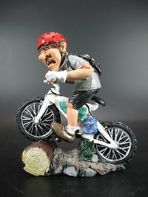 Ausdrucksvoll Mountainbiker Fahrrad Bike,17 Cm Sport Funny Figur Kollektion,neu Weich Und Rutschhemmend