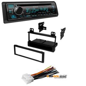 1995-2011 Single Din Radio Trim Dash Mount Kit For Stereo CD Player Installation