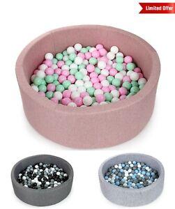 Tweepsy-Baby-Round-Foam-Ball-Pit-with-250-Plastic-Balls-BKOZN3