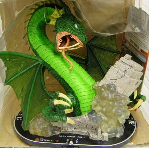 HeroClix Fear Itself - #107 The Serpent mit leichter Beschädigung / broken parts
