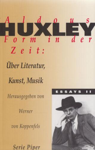 1 von 1 - pi- HUXLEY : FORM IN DER ZEIT    ESSAYS II   1452