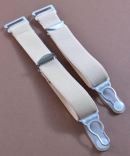 Straps, Strapsbänder 2cm breit mit Strumpfhalterclip zum Anhaken.