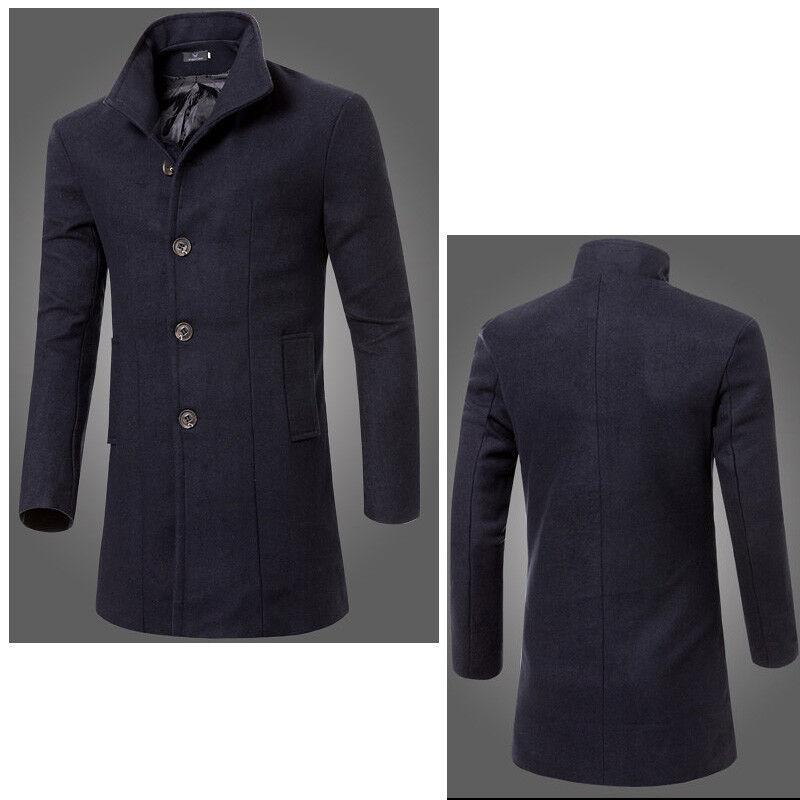 a834094fb5 Férfi dzsekik Téli 5115 meleg gyapjú kabát dzseki Köntös hosszú hosszú  farok kabát divat
