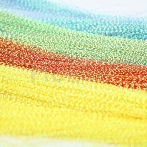 Hends Kristall Blitz Mehrere Farben Verfügbar Fliegenbinden Materialien