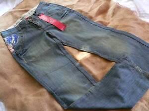 Vintage 36 Denim Blue Delave Ikks Nuovo 38 27 Icode con By etichetta Jeans ACnFqtx8Y