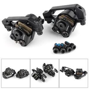 BR-M375-Mechanical-Disc-Brake-Caliper-Set-MTB-Bicycle-Front-Rear-Black