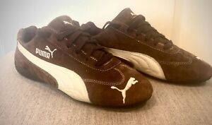 Details about Puma Speed Cat Brown & White Vintage Suede/Leather | Womens  Sneakers Size 8.5