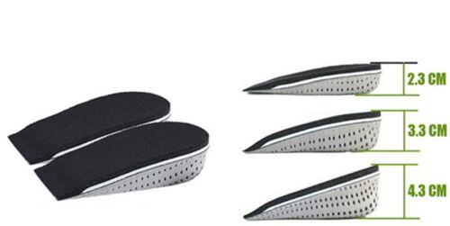 Men Women Shoe Insole Air Cushion Heel insert Increase Tall Height Lift 2-5cm