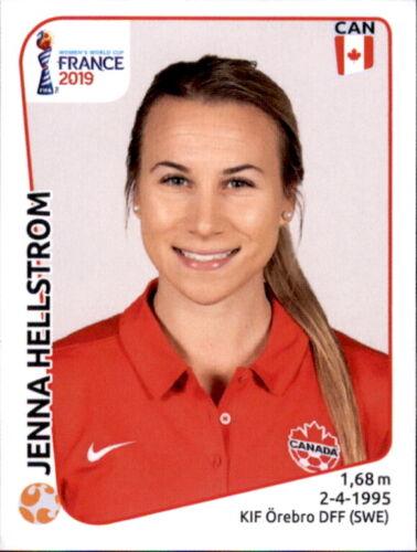 Panini Frauen WM 2019 Sticker 342 Kanada Jenna Hellstrom