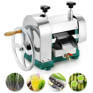 Manual Sugar Cane Juicer Sugarcane Juice Extractor Squeezer Hand Press Machine 607885244767 Ebay