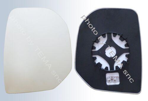 Tepee dal 06//2008 piastra+vetro DX term Specchio retrovisore PEUGEOT Partner