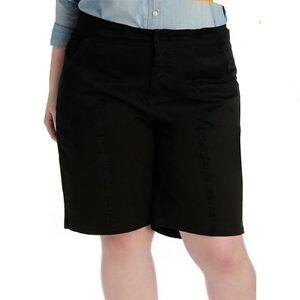 fecbab5e61b61 Ladies Plus Sizes 16-26 Black PVL City Dress Shorts Target Moda ...