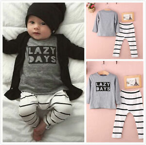 Cute Newborn 6 9 12 18 24 Months Clothes Baby Infant Girl ...