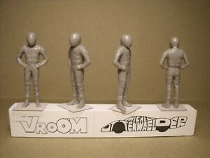 4-FIGURINES-1-43-SET-97-PILOTES-DRIVERS-F1-LE-MANS-VROOM-FOR-SPARK