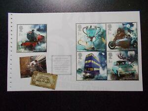 GB-2018-Harry-Potter-Prestige-Stamp-Booklet-Pane-2-ex-DY27-UK-Seller
