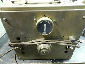 Vintage-Perkins-Battery-Charger-Roller-Smith-Gauge-Military-WWII-Steampunk