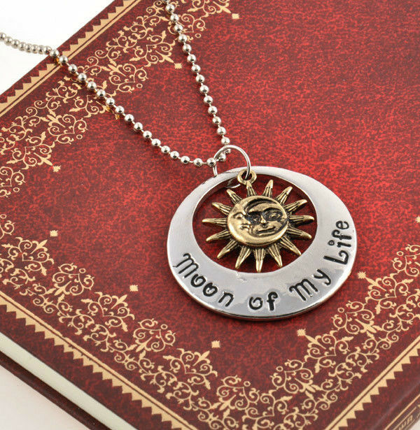 Cool Game of Thrones Moon of My Life My Sun and Stars Khal Khaleesi Necklace HOT