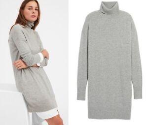 theory cashmere turtleneck kjole