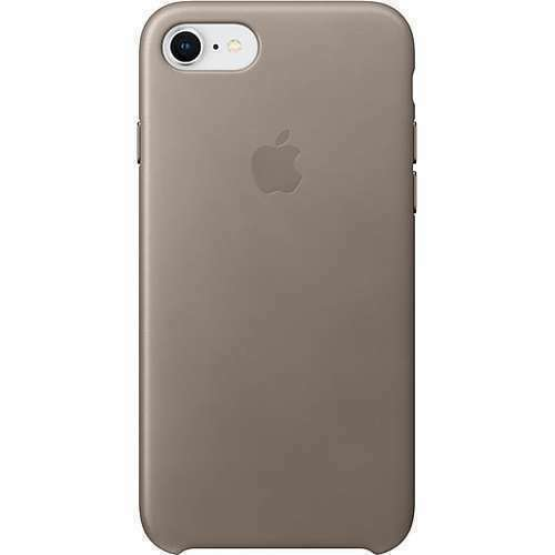 Apple iPhone 8 Leather Case - Taupe for sale online | eBay