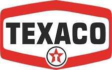Motor Sport Car Motorbike Vinyl Stickers Texaco  Decals gp x 2