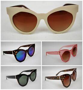 Oversize-Cat-Eye-Womens-Sunglasses-High-Quality-Retro-New-School-Rockabilly