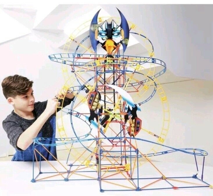 K'NEX Bionic Blast Roller Coaster Building Coaster Like Never Before In Set NEW