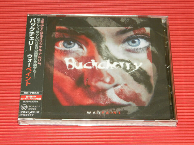 2019 BUCKCHERRY WARPAINT WITH THREE BONUS TRACKS FOR JAPAN CD