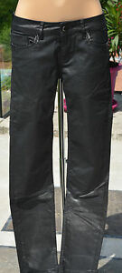 KAPORAL-Tres-joli-pantalon-noir-modele-clea-TAILLE-37-USA-27-EXCELLENT-ETAT