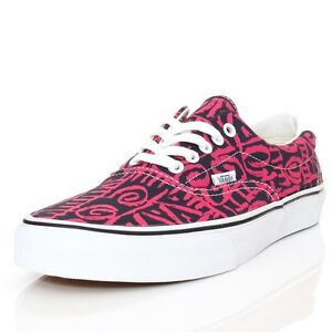790bede6ff6 AUTHENTIC VANS VAN DOREN ERA 59 TRIBAL BLUE PINK MENS 9 SHOES 27 CM ...
