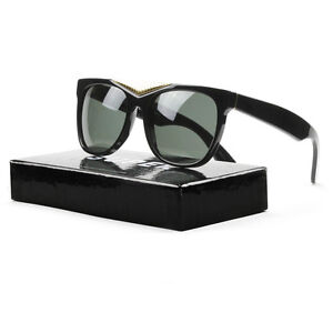 Zeiss Super Details Gold Sunglasses 034 Black Retrosuperfuture Gino About Lenses With n0mNy8wOv