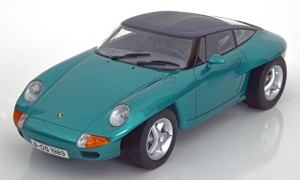 1989 Porsche Panamericana Concept Vert Métallisé par Bos Modèles le de 1000 1 18