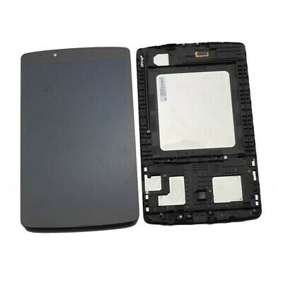 For LG G Pad F 8.0 V495 V496 AK495 LCD Screen Touch Digitizer+Frame Replacement