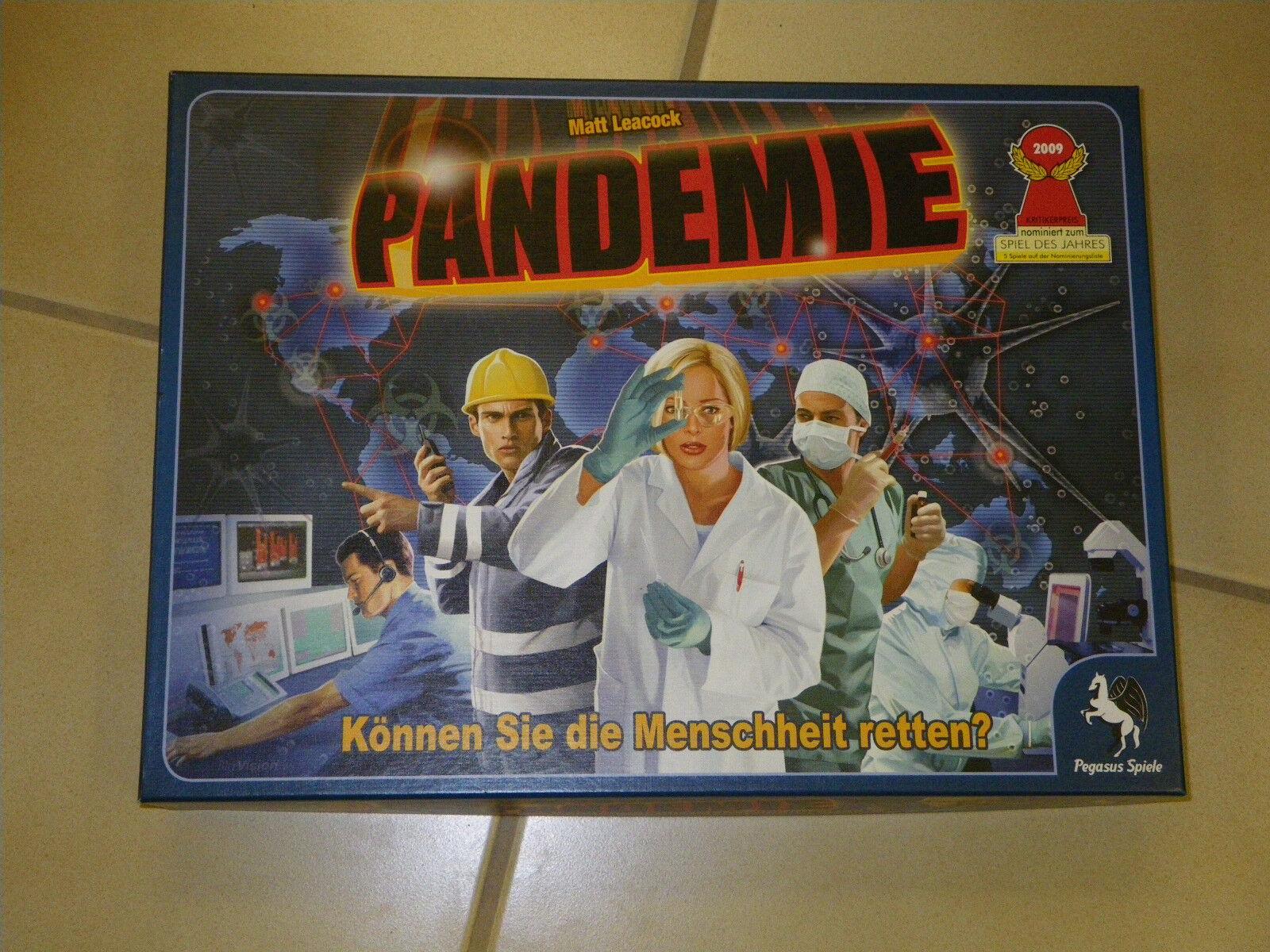 Pandemie Können Sie die Menschheit retten nominiert Spiel des Jahres 2009