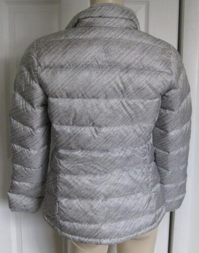 New Mountain Hardwear Ratio Printed 650 Down Jacket Womens Gray Size M $190
