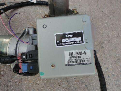 02-07 SATURN VUE EQUINOX COMPLETE ELECTRIC POWER STEERING PUMP MOTOR COLUMN EPAS