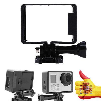 3 Marco de Plástico para GoPro Hero 4 3 Soporte The Frame Valido BacPac