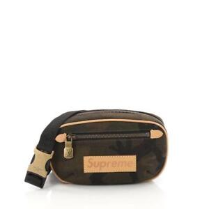d704af3140d Louis Vuitton x Supreme Bumbag Monogram Camo