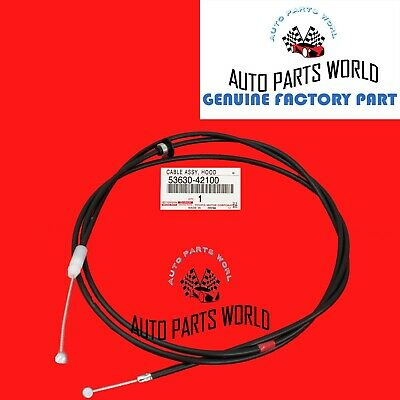 New Hood Latch Lock Release Cable For 2006-2012 Toyota RAV4 2.5L 536300R010