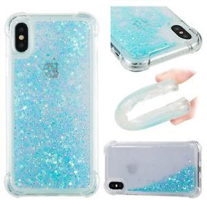 3D Liquid Glitter Quicksand Shockproof TPU Case Cover For Huawei LG Moto Xiaomi