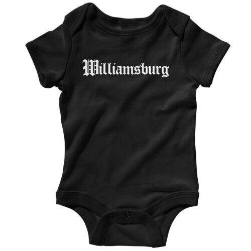 NB to 24M BKNY Baby Infant Romper Williamsburg Gothic Brooklyn NYC One Piece