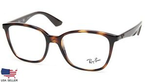 9570fc2021 NEW Ray Ban RB7066 5577 SHINY HAVANA EYEGLASSES GLASSES FRAME 7066 ...
