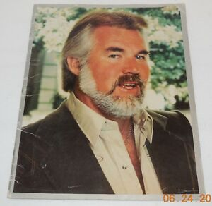 1982 Kenny Rogers Tour Souvenir Program rare VHTF