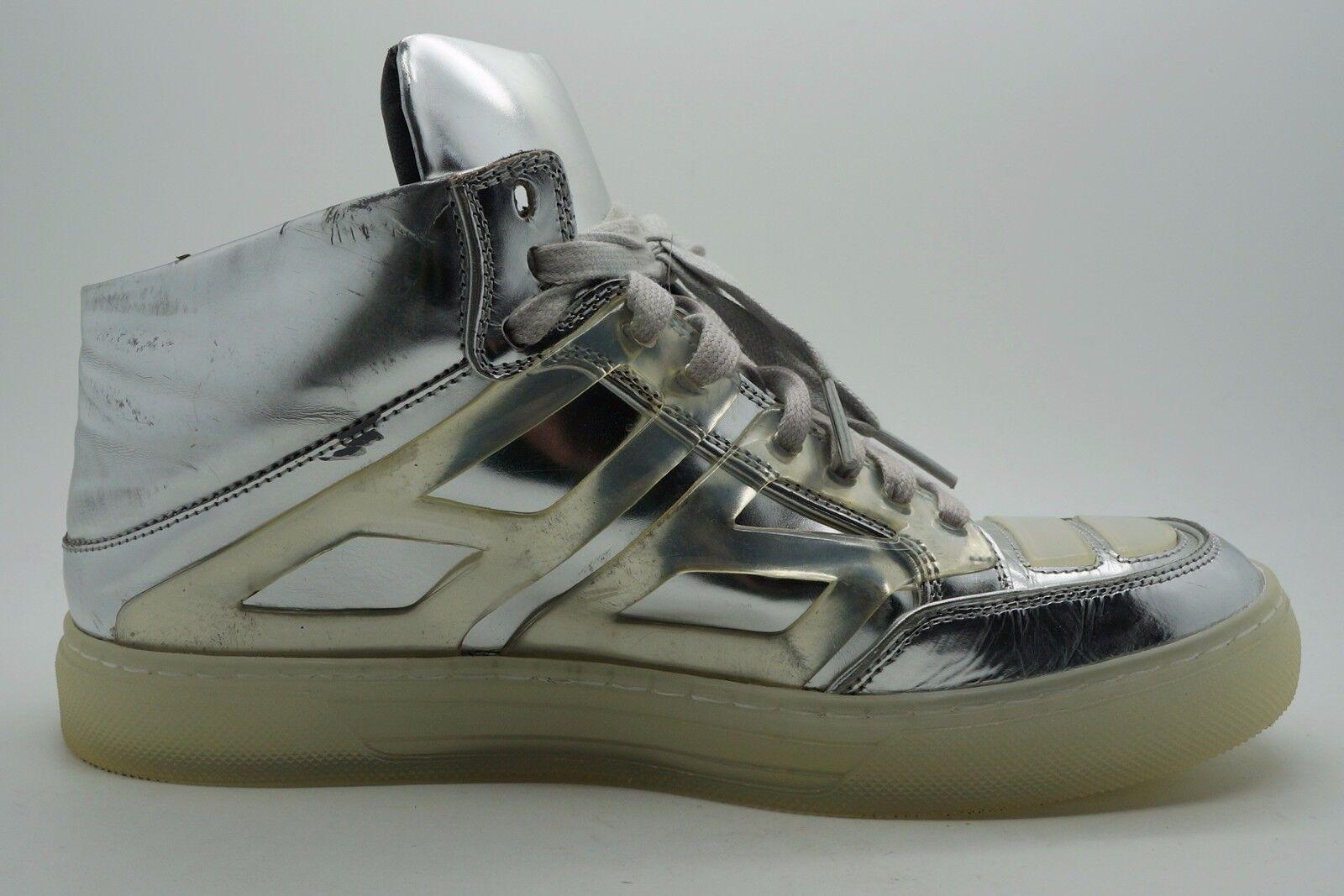 Alejandro Ingelmo Silber Metallic 7 Tron Sneakers Damen - Größe 7 Metallic B f50a3e