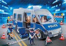 Playmobil 9236-surveiller avec barrage Nouveau neuf dans sa boîte véhicule de la police