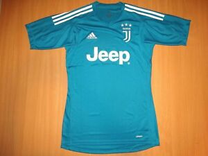 size 40 259c0 e7579 Details about NEW JUVENTUS 2017 2018 AWAY ADIZERO ADIDAS Football Shirt  JEEP XS GOALKEEPER