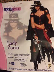 Costume sexy zorro final, sorry